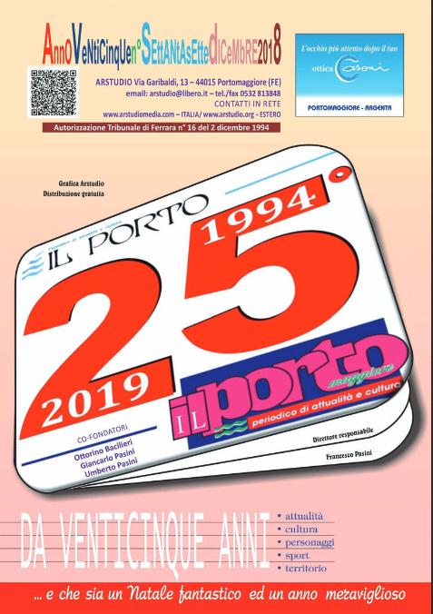 """""""Il Porto"""" edizione Pasqua 2019 – compleanno d'argento"""
